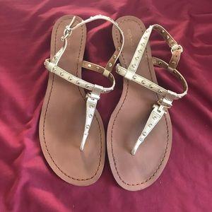 Coach mini wedge sandal